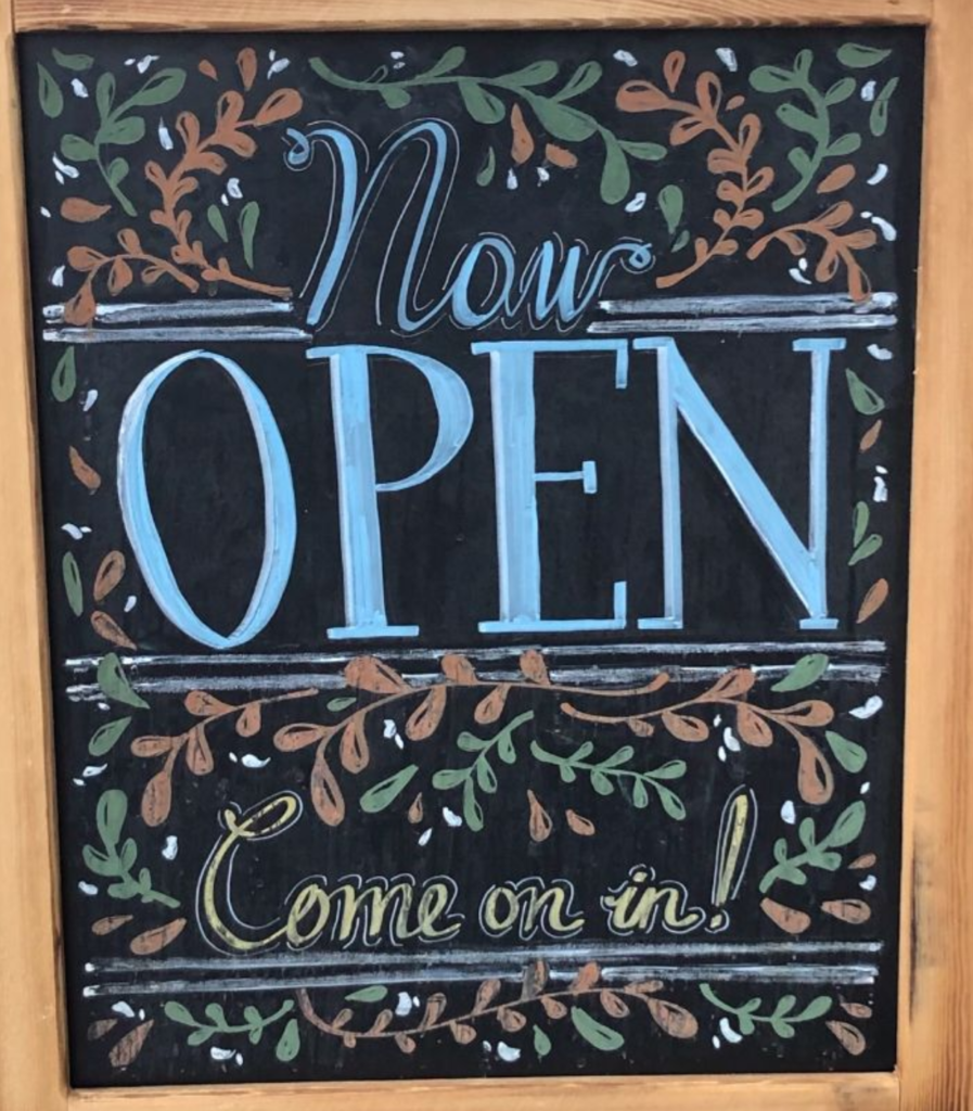 Our boutique & resource room are now open!